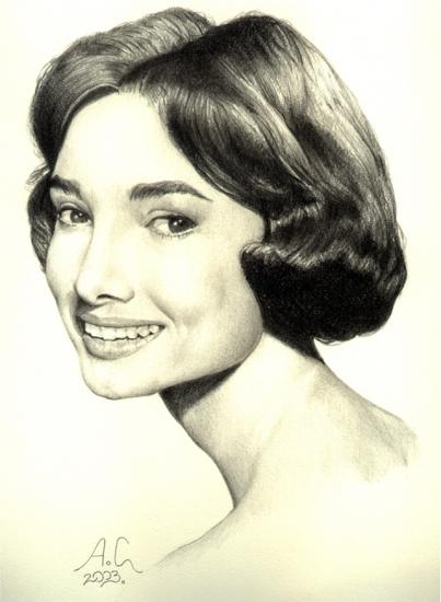 Audrey Hepburn by Aeron